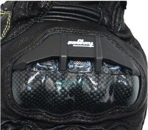 Image 3 - 送料無料 afs10 バイクグローブロードレースグローブサイクリンググローブ革手袋炭素手袋