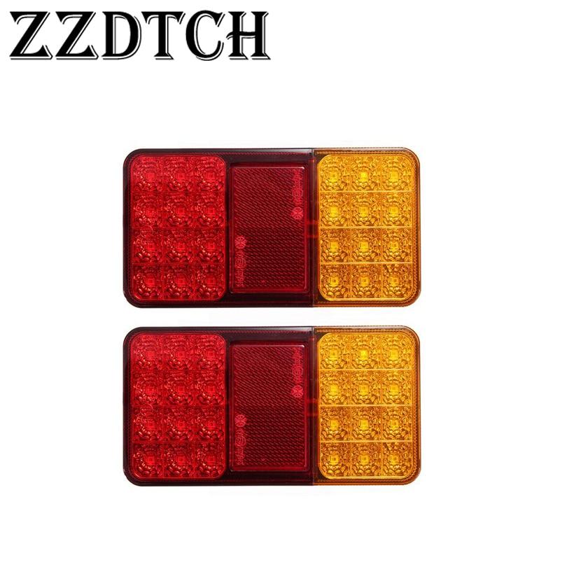 1x Side Orange LED Marker 12V Light holder for Truck Scania Renault Isuzu Volvo