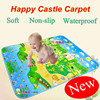 Free Shipping Hot Sale Baby Play Mat 1 8 1 5 Meter Happy Castle Game Kids
