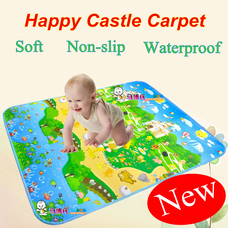 Authorized Authentic Maboshi Baby Play Mat Meter Happy Castle Game Kids Children Mat Picnic Carpet Baby Crawling Mat CM-004Authorized Authentic Maboshi Baby Play Mat Meter Happy Castle Game Kids Children Mat Picnic Carpet Baby Crawling Mat CM-004