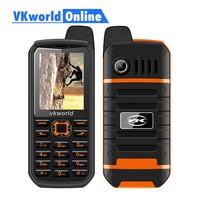 Vkworld V3 Plus Mobile Phone 3000mAh Long Standby 2 4inch IP54 Waterproof Dustproof Cellphone Dual Sim