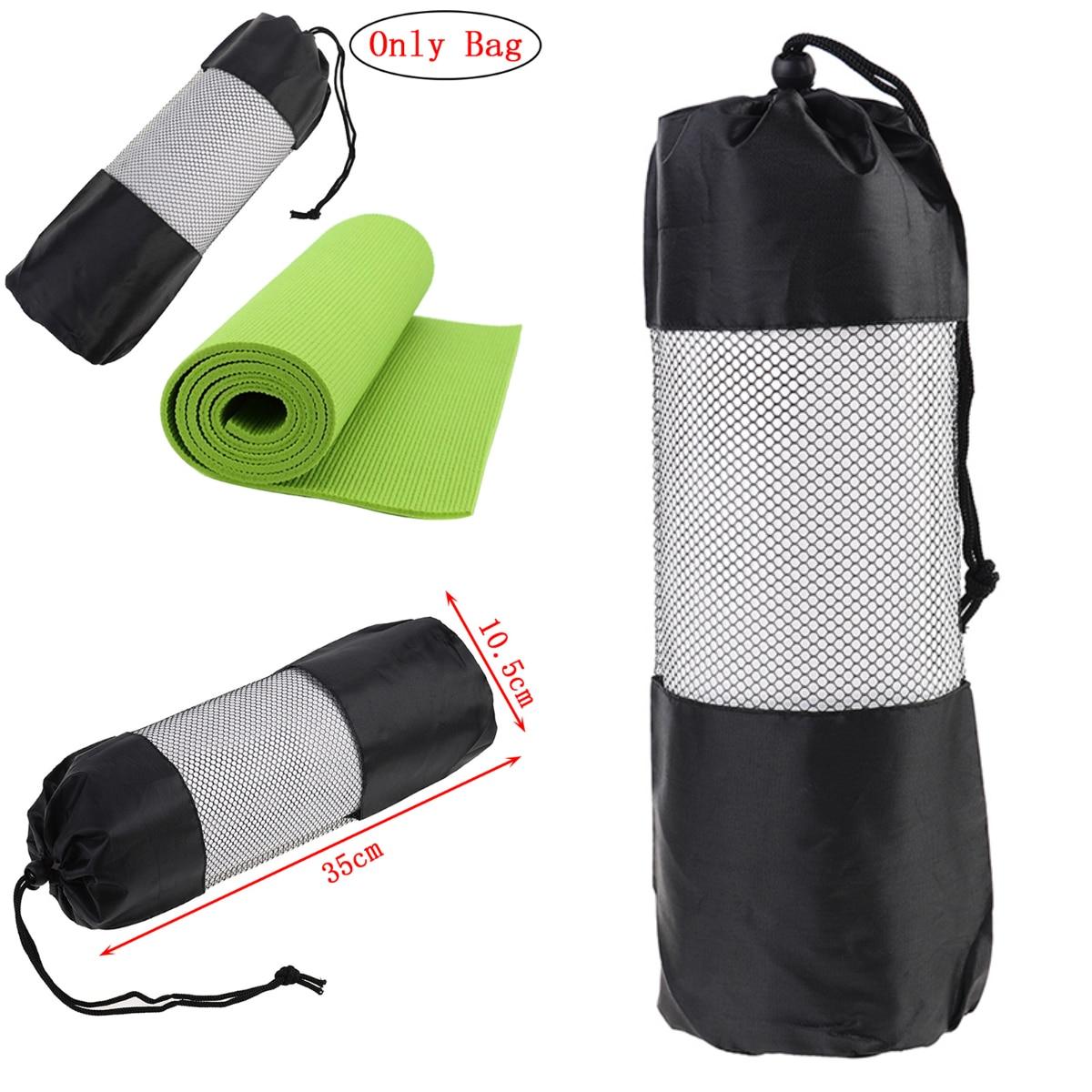 Ropa De Hombre 35*10.5cm Yoga Bag Canvas Practical Yoga Pilates Sport Exercise Mat Carry Strap Drawstring Bag Gym Bag Fitness Backpack