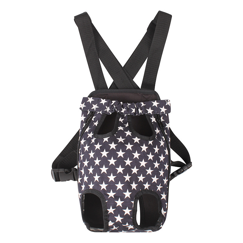 New hot pet carrier dog bag fashion out portable Five-pointed star pattern shoulders backpack for dogs travel bags dog carriers