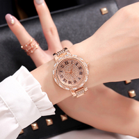 Cacaxi Women Bracelet Watches Fashion Luxury Lady Rhinestone Wristwatch Ladies Crystal Dress Quartz Watch Clock Montre Femme