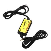 Новинка 2017 года адаптер CD проигрыватели MP3 аудио Интерфейс AUX SD USB кабель для передачи данных адаптер 12 P подключения cd-чейнджера для Toyota lexus Scion