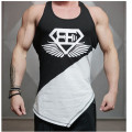 New Slim Men's Tank Tops  Underwear Summer Breathable Mesh Loose Tank Top Men's Sleeveless  T-shirts