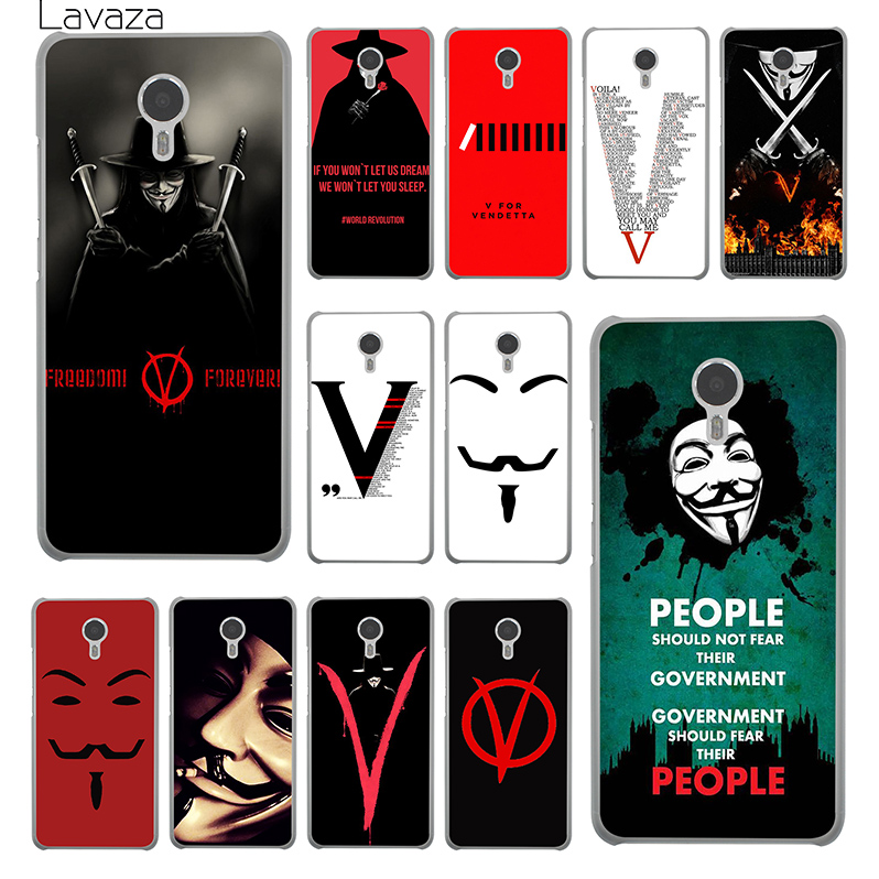 Lavaza <font><b>V</b></font> For Vendetta Hard <font><b>Phone</b></font> Cover Case for Meizu M2 <font><b>M3</b></font> M3S M5 Mini &#038; Note M5S U10 U20 Pro 6