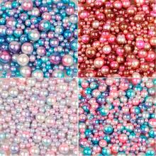 FRIGG 4/6/8/10mm Multi size option 250Pcs/lot random mix color no holes Pearls Round Beads For DIY Craft Scrapbook Decoration