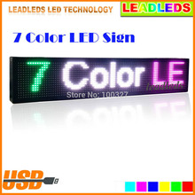 32*128dots Full Color USB Programmable Scrolling Message LED display Board