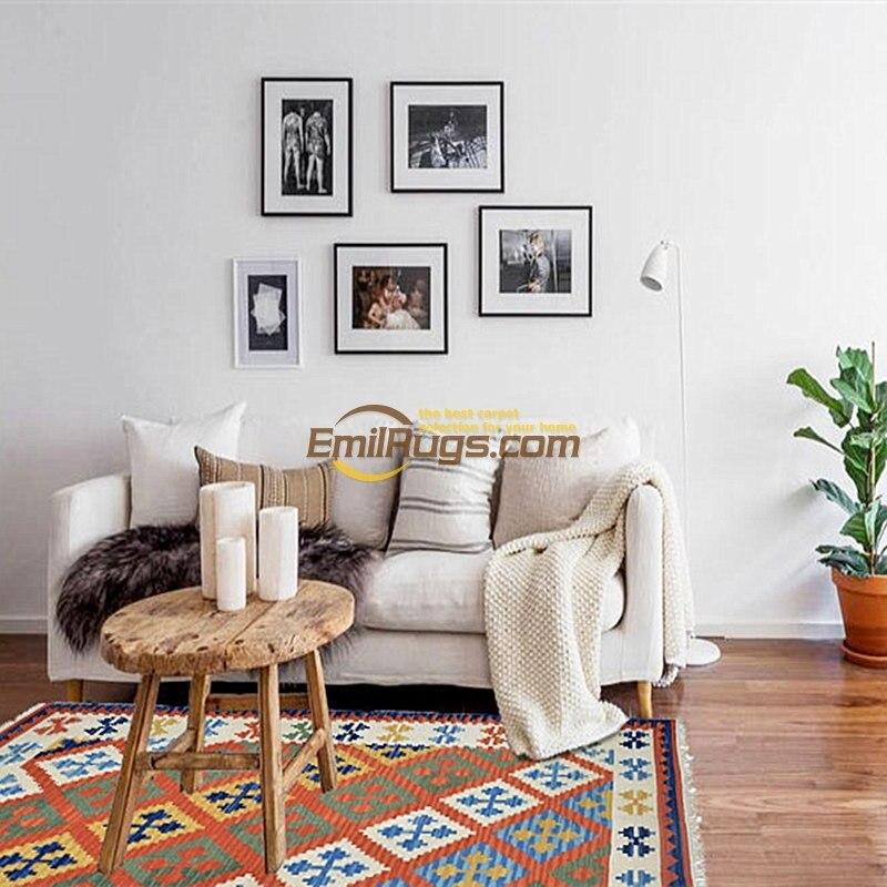 Ковер для спальни северные ветра kilim шерсть ручной гостиной журнальный столик диван прикроватная тумбочка для спальни ковер гобелен gc137yg4