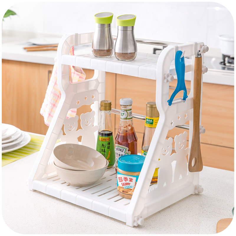 Kitchen Cruet Condiment Racks, Kitchen Countertops