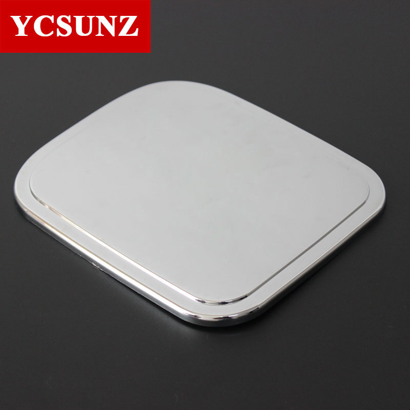 Car Accessories ABS Fuel Tank Cap Cover For For Toyota Hilux Vigo 2012 2013 2014 double cabin