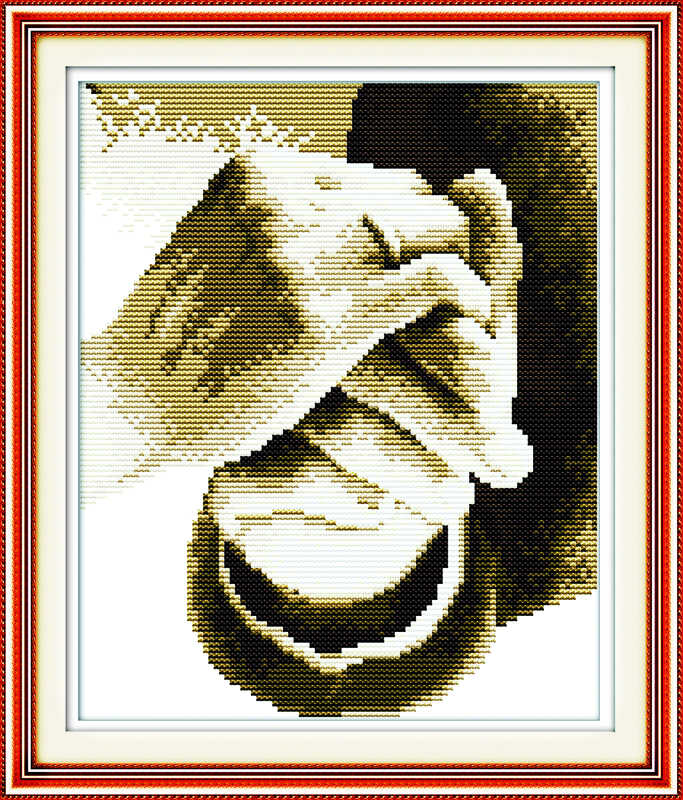 Hold your hand in hand love  11CT counted printed on canvas DMC Cross Stitch kits 18CT 14CT needlework Set DIY embroidery plus