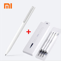 Оригинальный Xiaomi Mijia мм 9,5 ручки для подписи мм шариковая ручка PREMEC гладкой Швейцарии Металл пополнения MiKuni Японии чернила добавить черный