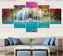 Diamond embroidery 5D diamond cross stitch crystal square diamond unfinished decorative diy diamond painting waterfall landscape цена