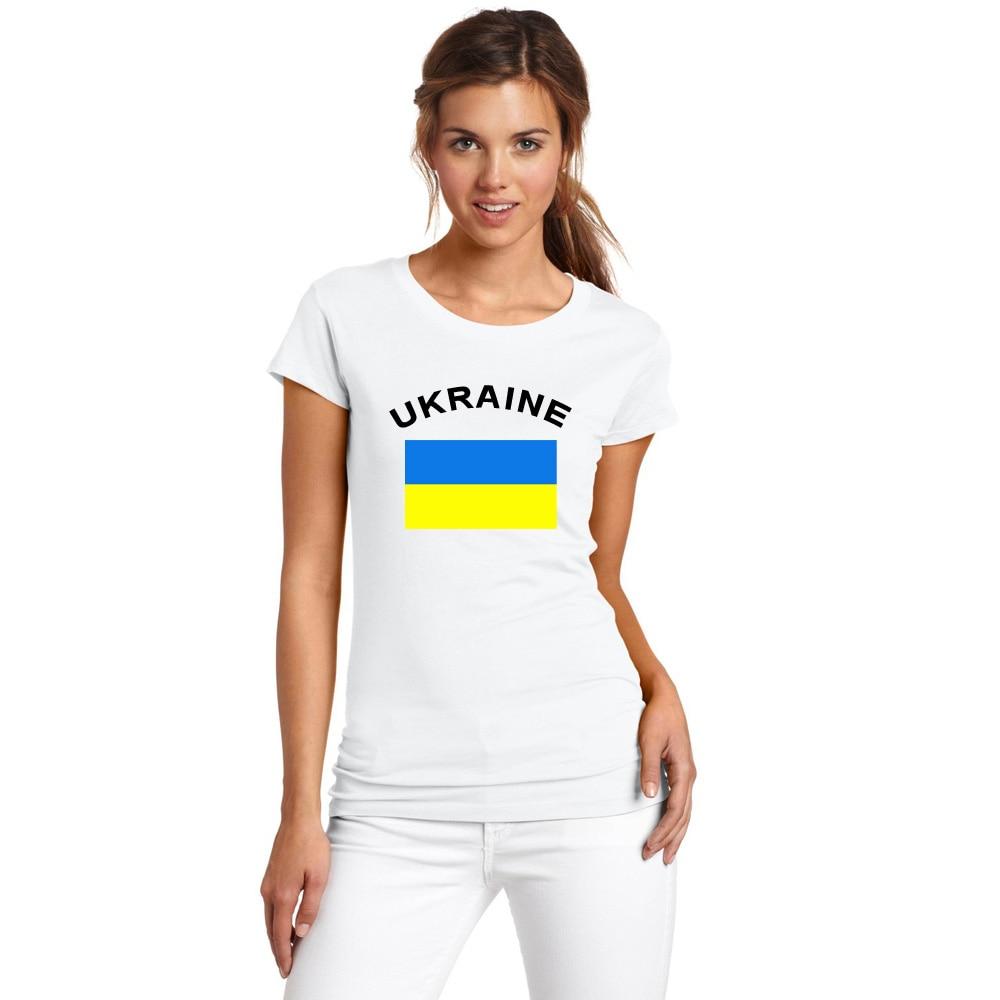 BLWHSA UKRAINE Női rajongók éljenző póló Fitness Nyári női - Női ruházat