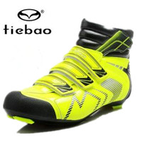 Tiebao winter cycling shoes off road sapatilha ciclismo 2019 bike athletic boots zapatillas deportivas mujer mens sneakers women