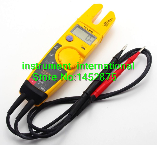 FLUKE T5 600 600V Clamp Continuity Current Electrical Tester