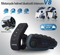 Control remoto 5 NFC Near Field Communication Duplex BT intercomunicador de la motocicleta del casco de bluetooth Headset