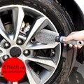 2016 Novo Caminhão Do Carro Da Motocicleta Roda Aro Do Pneu Da roda de carro Hub Limpo Ferramenta de Limpeza da escova, escova de roda de carro, roda de escova da lavagem de carro