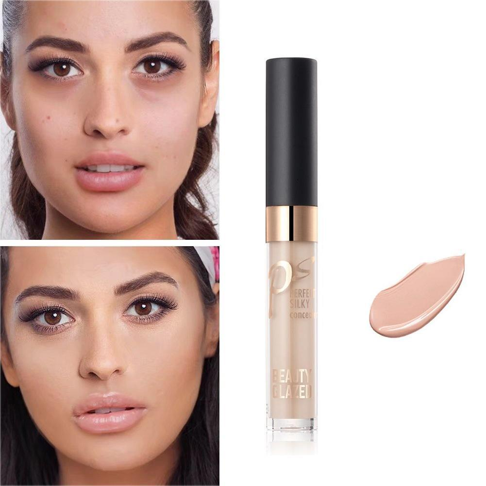 Beauty Glazed Concealer Cream Makeup Concealer Liquid Concealer Convenient Pro Eye Concealer Cream Makeup Brushes Foundation image