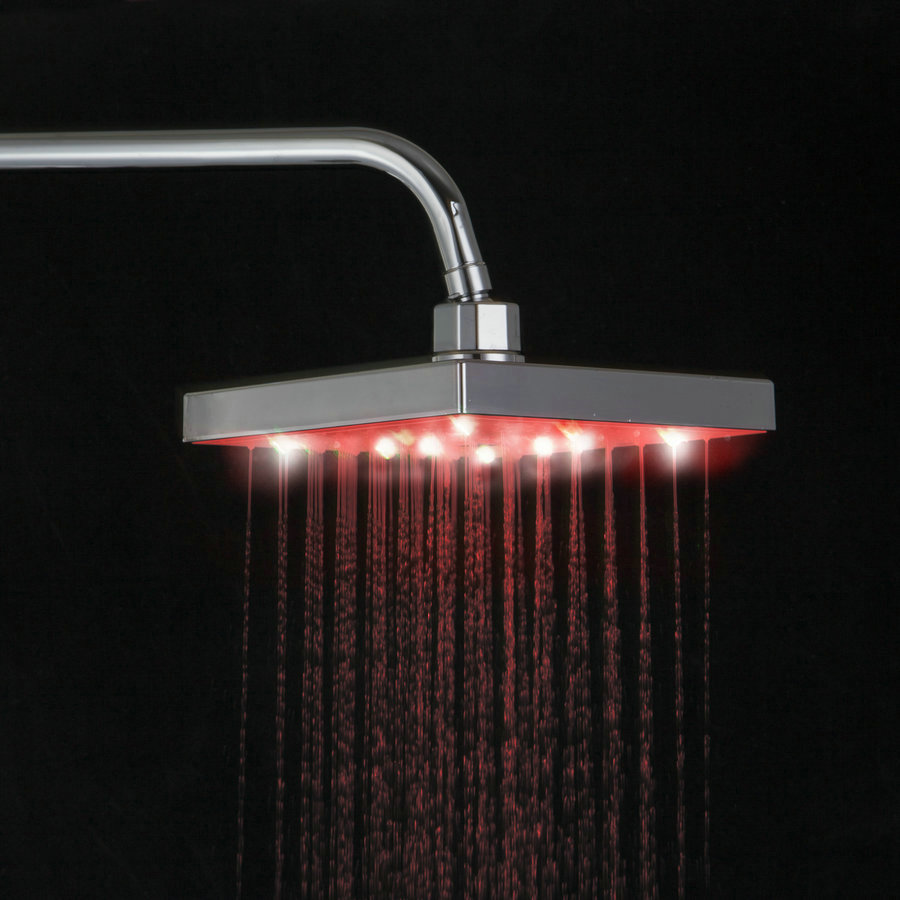 BEST LED Rainfall Shower Heads Cabeca Chuveiro 8\