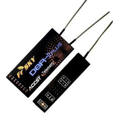 Livraison gratuite FrSky D8R deux voies 2.4G 8 canaux récepteur D8R-II Plus avec antenne pour modèle RC