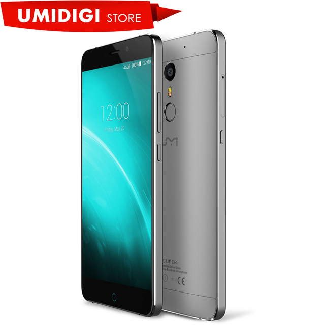 Umi супер 4 г lte mtk6755 p10 octa ядро металла мобильного телефон 4 Г RAM 32 Г ROM 5.5 дюймовый FHD 4000 МАч Android 6.0 смартфон