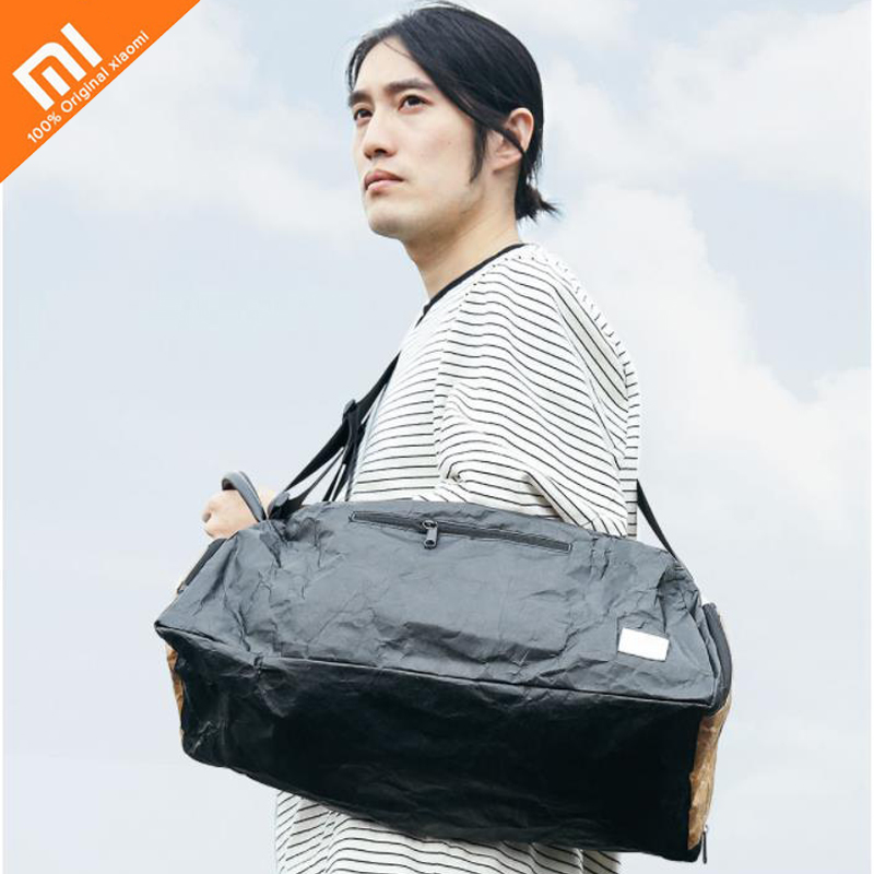 Original xiaomi mijia street gym bag waterproof independent shoe warehouse dry and wet separation fitness bag
