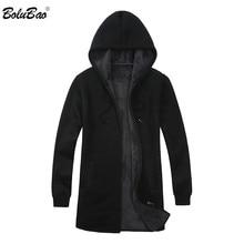 BOLUBAO Marka Erkek Hırka Kazak Palto Rahat Slim Fit Artı Kadife erkek Kazak Kış Yeni Erkek Kapşonlu örgü kazak