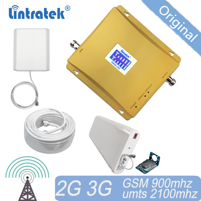 Free Shipping Cellular Signal Booster 3G Signal 900 2100 GSM UMTS Amplifier Dual Band Repeater GSM900