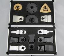 A set saw blades with Aluminum box for Fein multimaster,Dremel,TCH,Makita,and other Multifunction Oscillating Power Tool