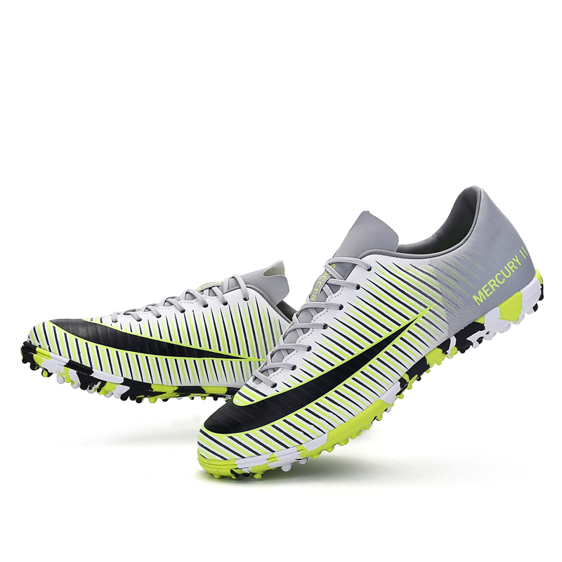 ffa668f8a 2018 Men Turf Futsal Soccer Shoes men Cheap Indoor Football Boots  Professional TF Soccer Boots Nails Cleats Sneakers Trainer on  Aliexpress.com   Alibaba ...