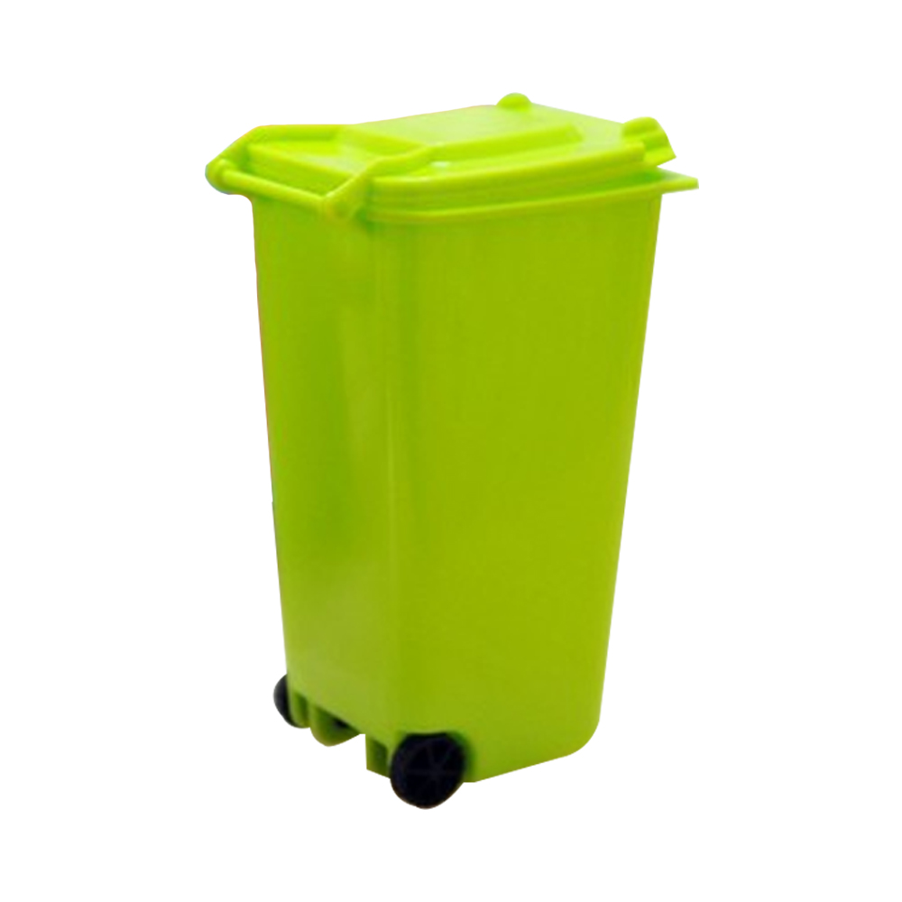 1pc creative multi colors plastic desktop garbage cleaning mini small trash can desk organizer - Small trash can with lid ...