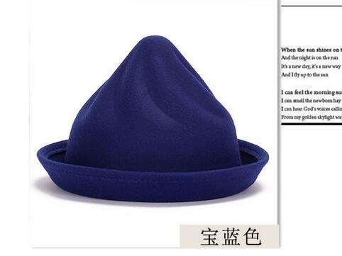 1pcs//lot Korean Style Woman Wide Brim Beach Sun hat Foldable Solid Cap Lady Casual hat