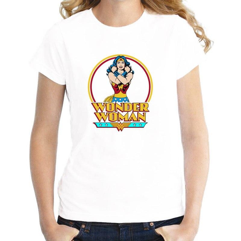 Чудо женская летняя обувь для девочек короткие футболка женская футболка Повседневная Harajuku печатных белые футболки женские Kawaii wtw403