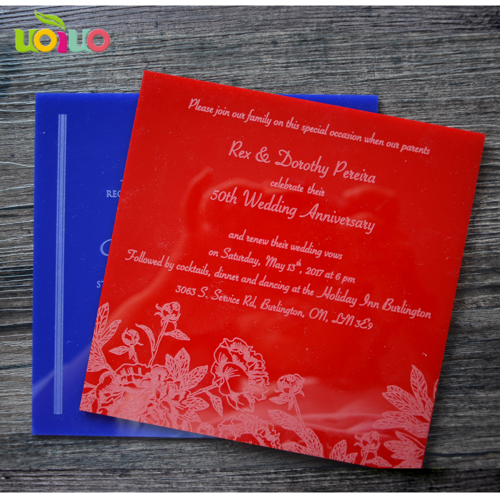 Beautiful colorful wedding gift and favor laser cut wedding ...