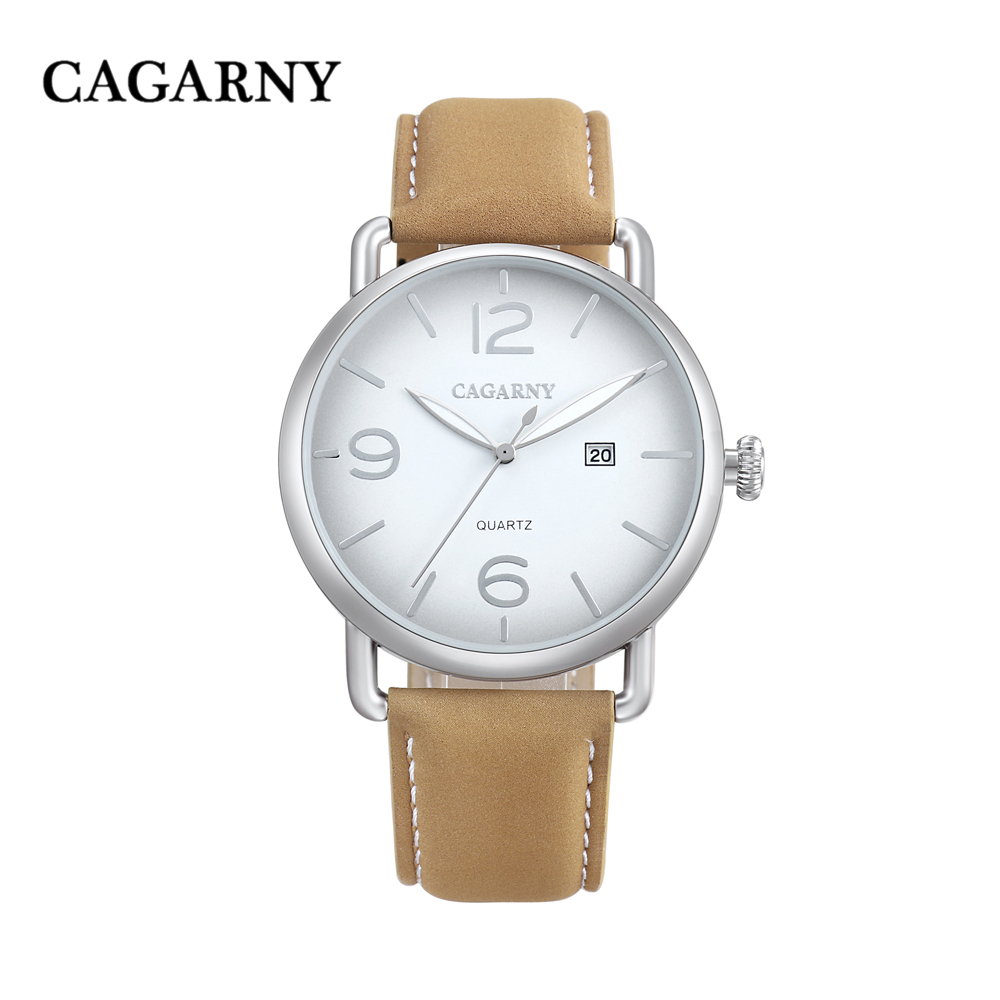 new arrival cagarny luxury brand quartz wrist watch for men watches casual clock man (16)