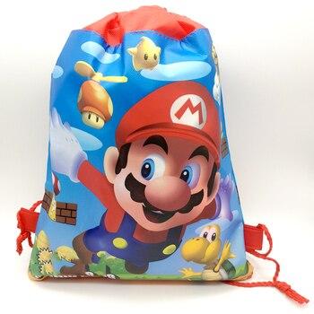 1 unids/lote Tema de Súper Mario feliz Baby Shower bolsas de regalo...