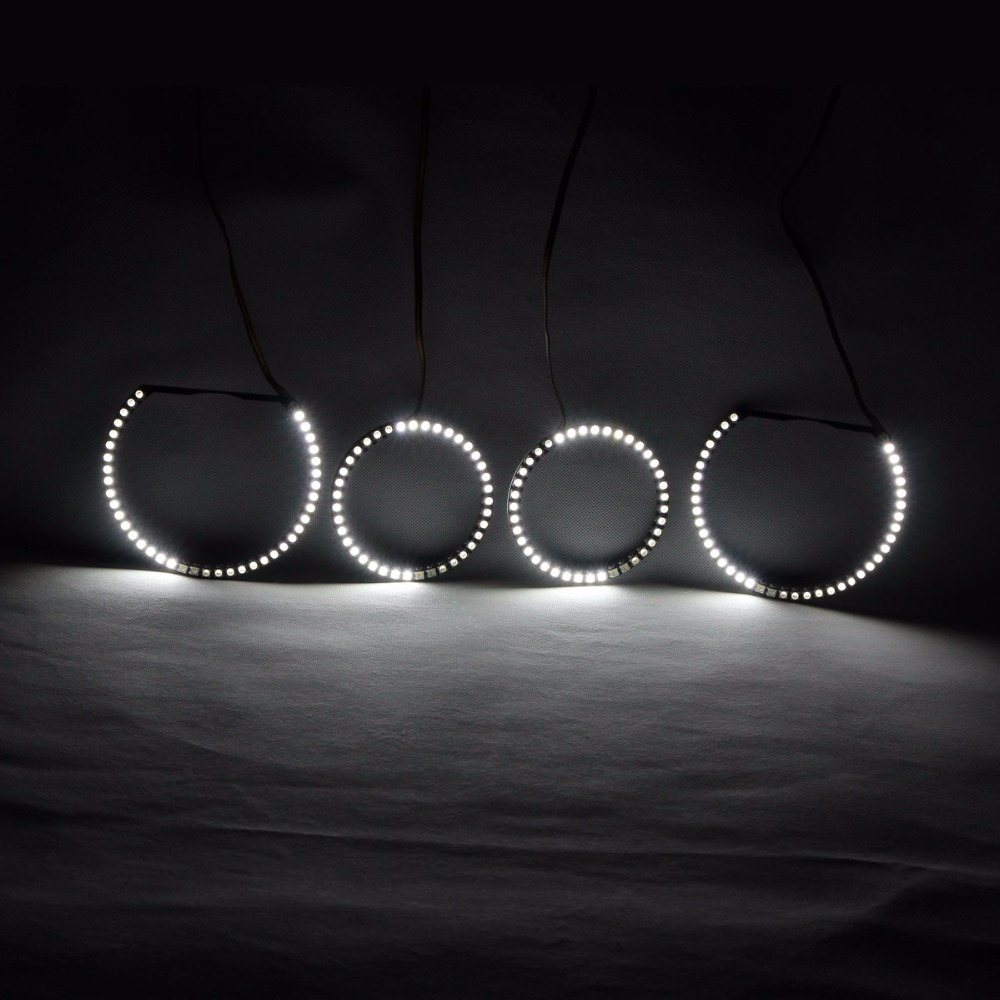RGBW Angel Eyes Rotierende Lichter DRL LED Rolling Light - Auto Lichter