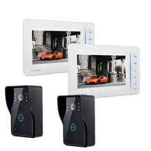 Access control intercom system wired video font b door b font phone Doorbell Touch Button HD