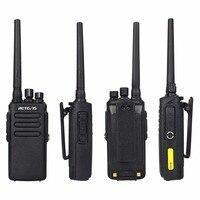מכשיר הקשר 10W DMR רדיו דיגיטלי מכשיר הקשר IP67 Retevis Waterproof RT81 UHF 400-470 Mhz VOX הצפנה דיגיטלי / אנלוגי מצבי A9119A (4)