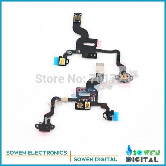 For iphone 4G camera flex cables on off flex cable sensor flex ++best quality+wholesaler or retail