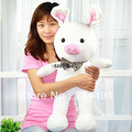 Free shipping 50cm special cute soft anime pig rabbit cuddly sleep plush animal doll hold pillow stuffed toy birthday gift