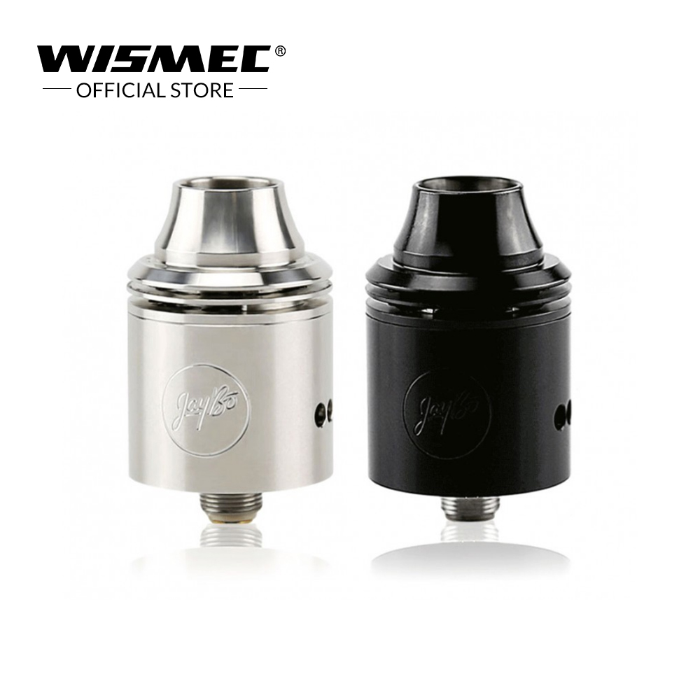 [Official Store] Original Wismec Indestructible (RDA Atomizer) 22mm Diameter Airflow Washer RDA Atomizer Tank For E-cigs Kit