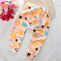 Calças do bebê Meninos Calças de algodão com impressão dos desenhos animados de malha Leggings cintura elástica pant busha pp calças da menina da criança roupa do bebê