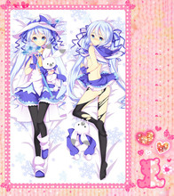 Anime Cartoon Hatsune Miku   Double Bolster Hugging  Pillow Case Cover No.3033