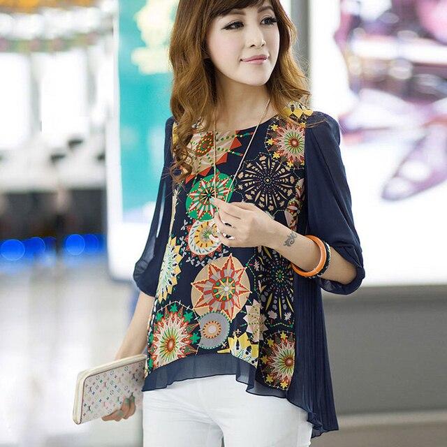dfff5241a2af 2017 blusa mulheres camisas plus size blusa mulheres tops roupas baratas  china
