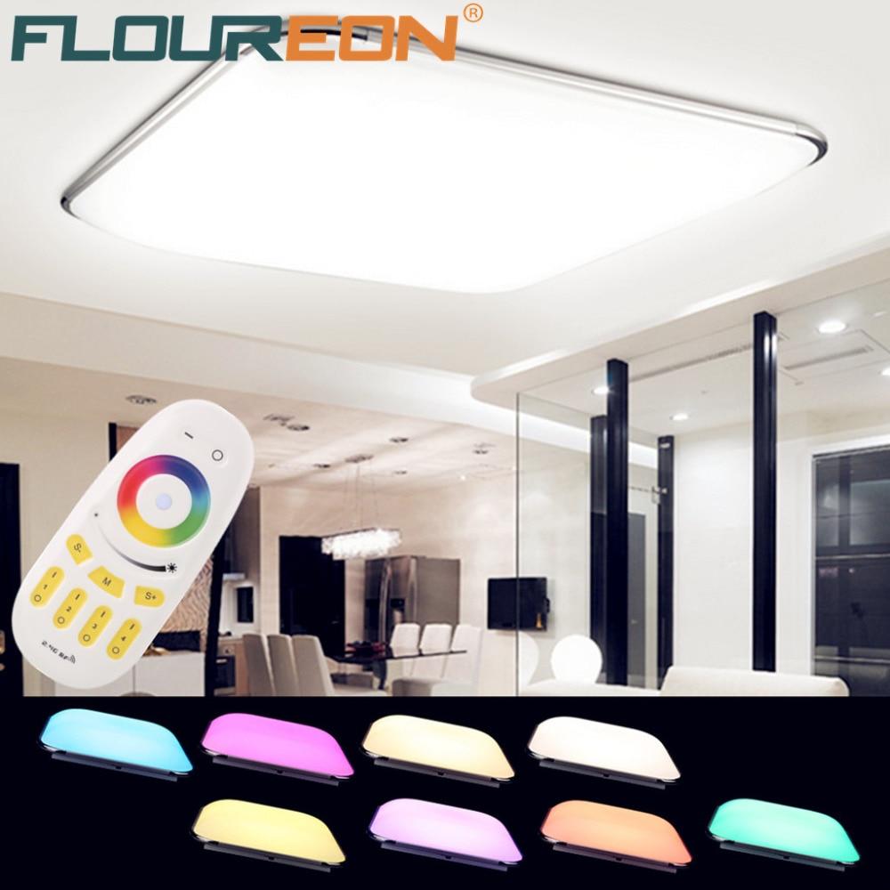 Aliexpress 36 Watt RGB Led Deckenleuchte Fernbedienung Wohnzimmer Deckenleuchten Luminarias Para Sala Dimmen Von