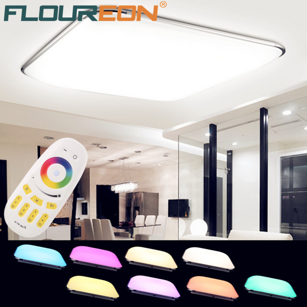36W RGB LED Ceiling Light Remote Control Living Room Ceiling Lights ...